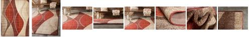 Bridgeport Home Jasia Jas04 Multi 9' x 12' Area Rug