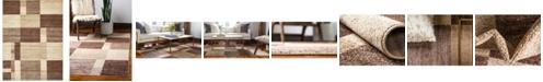 Bridgeport Home Jasia Jas14 Beige 9' x 12' Area Rug