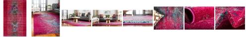 """Bridgeport Home Brio Bri6 Pink 10' 6"""" x 16' 5"""" Area Rug"""