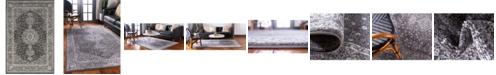 Bridgeport Home Mobley Mob1 Dark Gray 4' x 6' Area Rug