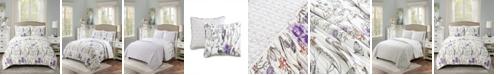 Lush Decor Adalia Reversible 3-Piece King Quilt Set