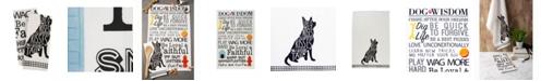 Design Imports Asst Dog Prints Dishtowel Set of 2
