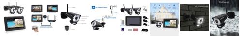 CasaCam Video Home Surveillance Kit With LED Spotlight
