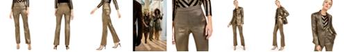 INC International Concepts INC Metallic Bootcut Pants, Created For Macy's