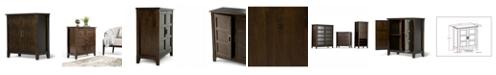 Simpli Home Burlington Storage Cabinet