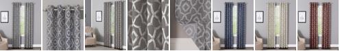 "Windham Weavers Bennett 50"" x 95"" Geometric Print Curtain Panel"
