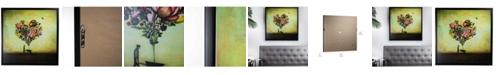 Crystal Art Gallery American Art Decor Big Heart Botany By Duy Huynh Framed Canvas Art