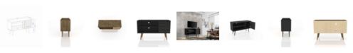 "Manhattan Comfort Liberty 42.52"" Mid Century - Modern TV Stand with 2 Shelves and 1 Door"