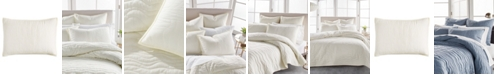 DKNY Cotton Voile Quilted King Sham