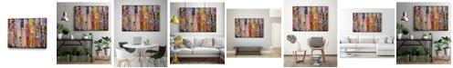 "Giant Art 14"" x 11"" Metro Mix 21 III Art Block Framed Canvas"