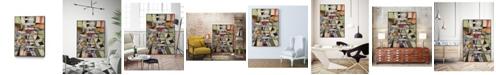 """Giant Art 36"""" x 24"""" Valse June Art Block Framed Canvas"""