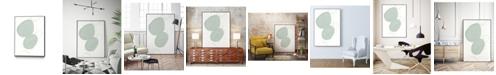 "Giant Art 20"" x 16"" Implied Motif I Art Block Framed Canvas"