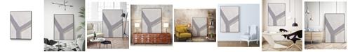 "Giant Art 14"" x 11"" Neutral Impact I Art Block Framed Canvas"