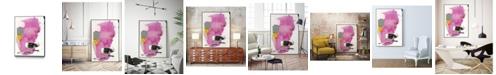 """Giant Art 20"""" x 16"""" Haiku V Art Block Framed Canvas"""