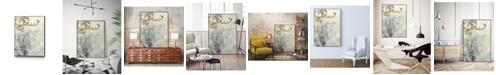 "Giant Art 32"" x 24"" Arabic Encaustic III Art Block Framed Canvas"