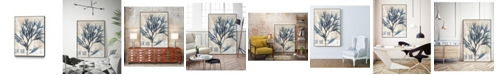 "Giant Art 24"" x 18"" Seaweed Arrangement I Art Block Framed Canvas"