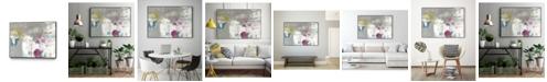 "Giant Art 24"" x 18"" Minute I Art Block Framed Canvas"