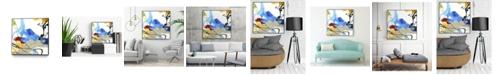 "Giant Art 20"" x 20"" Formulation I Art Block Framed Canvas"