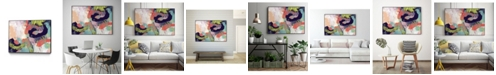 """Giant Art 36"""" x 24"""" Vibrant Spring II Art Block Framed Canvas"""