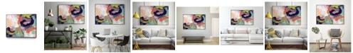 """Giant Art 14"""" x 11"""" Vibrant Spring II Art Block Framed Canvas"""