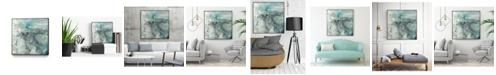 "Giant Art 30"" x 30"" Sea Lace I Art Block Framed Canvas"