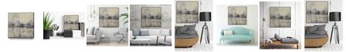 "Giant Art 30"" x 30"" Neutral Dream II Art Block Framed Canvas"