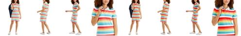 Tommy Hilfiger Striped Polo Dress