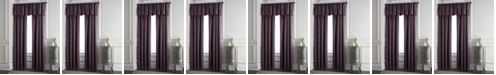 """Colcha Linens Cambric Eggplant Lined Drapery Panel 52""""x84"""" - Each"""
