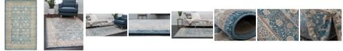 """Bridgeport Home Bellmere Bel3 Light Blue 3' 3"""" x 5' 3"""" Area Rug"""