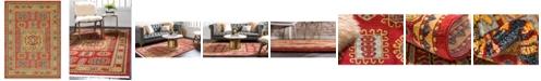 Bridgeport Home Harik Har6 Red 8' x 11' Area Rug