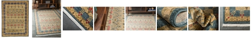 Bridgeport Home Orwyn Orw3 Blue 9' x 12' Area Rug