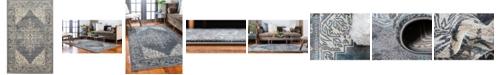 Bridgeport Home Aroa Aro8 Gray 5' x 8' Area Rug