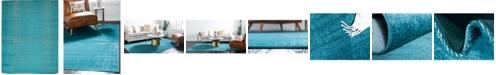 Bridgeport Home Axbridge Axb3 Teal 10' x 13' Area Rug