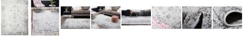 Bridgeport Home Basha Bas1 Gray 9' x 12' Area Rug