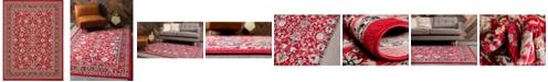 Bridgeport Home Arnav Arn1 Red 9' x 12' Area Rug
