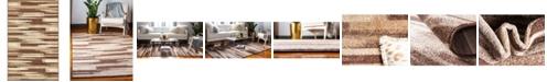 Bridgeport Home Jasia Jas03 Beige 5' x 8' Area Rug