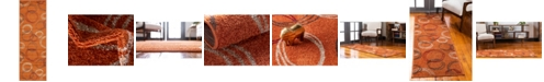 Bridgeport Home Jasia Jas05 Terracotta 2' x 6' Runner Area Rug