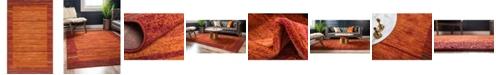 Bridgeport Home Jasia Jas11 Terracotta 5' x 8' Area Rug