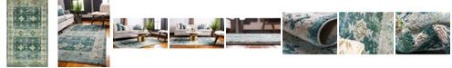 "Bridgeport Home Newhedge Nhg3 Green 10' 6"" x 16' 5"" Area Rug"