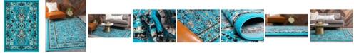 "Bridgeport Home Arnav Arn1 Turquoise 2' 2"" x 3' Area Rug"