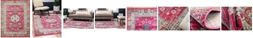 """Bridgeport Home Kenna Ken2 Pink 8' 4"""" x 10' Area Rug"""