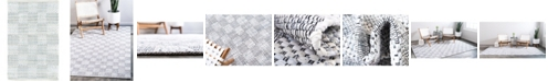 Bridgeport Home Jari Checkered Jar2 Ivory 2' x 3' Area Rug