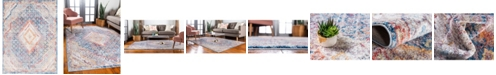 Bridgeport Home Zilla Zil1 Blue 9' x 12' Area Rug