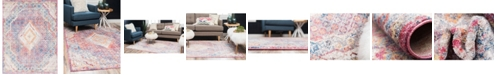 Bridgeport Home Zilla Zil1 Pink 9' x 12' Area Rug