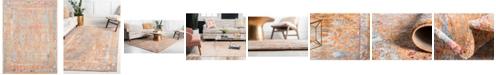 Bridgeport Home Zilla Zil2 Orange 9' x 12' Area Rug