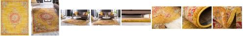 Bridgeport Home Lorem Lor1 Gold 8' x 10' Area Rug
