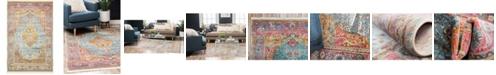 """Bridgeport Home Kenna Ken1 Multi 5' 5"""" x 8' Area Rug"""