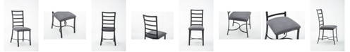 Boraam Bastian Collection Dining Chair, Set of 4