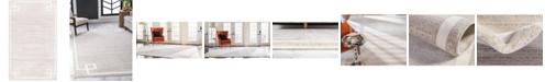 Jill Zarin Lenox Hill Uptown Jzu005 Beige 5' x 8' Area Rug