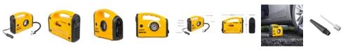 Wagan Tech Wagan 12 Volt Quick Set Inflator Air Compressor